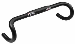 ITM řídítka EXP WING 31,8mm Al, černá