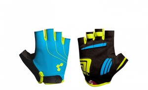 Cube Rukavice CUBE  Natural Fit LTD blue/lime/black