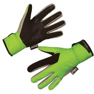 Endura rukavice DELUGE II Glove hi-viz green
