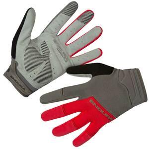 Endura rukavice HUMMVEE PLUS II dlouhé červené