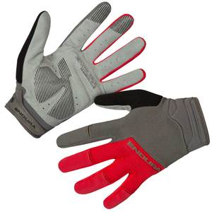 Endura dlouhoprsté rukavice HUMMVEE PLUS II červené