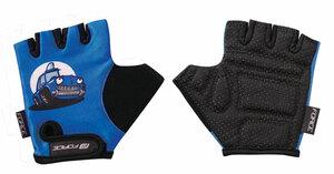 Force rukavice KID dětské modré auto