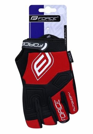Force rukavice MTB AUTONOMY 17, červené