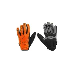 Force rukavice MTB SPID, letní bez zapínání, oranžové