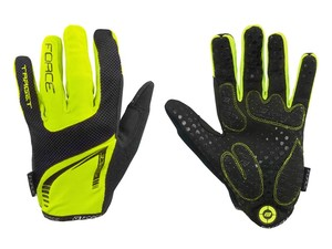 Force Rukavice MTB TARGET fluo