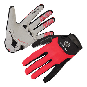Endura rukavice SINGLETRACK PLUS red