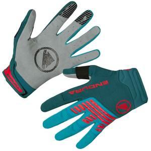 Endura rukavice SINGLETRACK zelené petrol