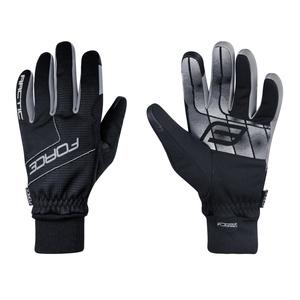 Force rukavice zimní ARTIC, černé