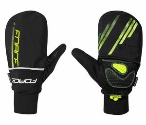 Force rukavice zimní COVER, fluo