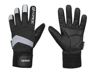 Force rukavice zimní WARM, černé
