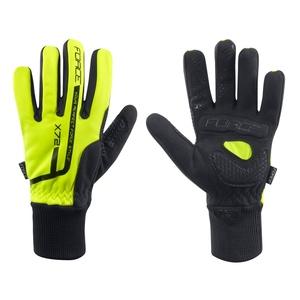 Force rukavice zimní X72 fluo