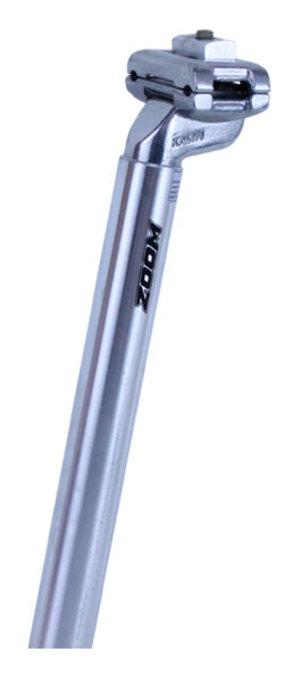 Bezvakolo sedlovka ZOOM SP-213 stříbrná