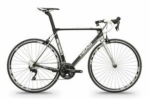 Head silniční kolo I-SPEED II černá matná / stříbrný