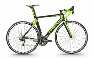 Head silniční kolo I-SPEED IV černá matná / zelená