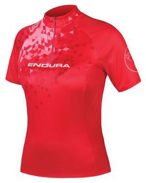 Endura dámský dres SingleTrack II červená