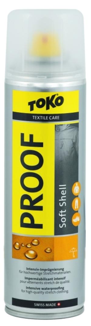 Toko SOFT SHELL PROOF 250ml Care Line impregnační prostředek na textil