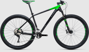 Cube horské kolo REACTION GTC Race carbon green