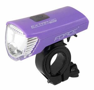 Force světlo přední EXTRA USB fialové