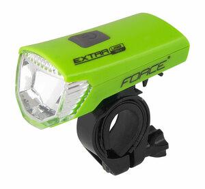 Force světlo přední EXTRA USB zelené