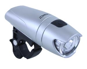 MRX světlo přední LOGIC-365 3-Watt stříbrné