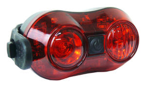 Logic světlo zadní 6002 2x LED USB nabíjecí
