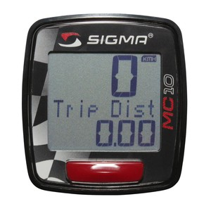 Sigma tachometr MC 10 moto do 399 km/hod