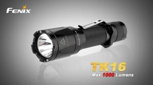 Fenix Taktická LED svítilna Fenix TK16