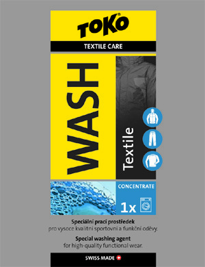 Toko TEXTILE WASH SACHET 20ml Care Line