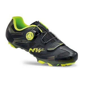 Northwave tretry Scorpius 2 Plus, black military/yellow fluo