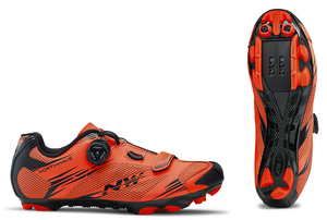 Northwave tretry Scorpius 2 Plus, lobster orange/black