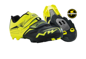 Northwave tretry Spike Evo, yellow fluo/black