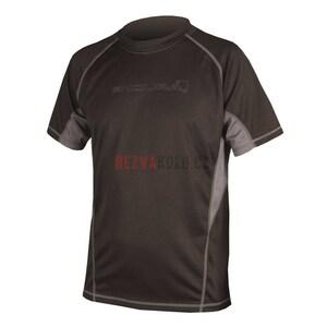 Endura triko CAIRN s krátkým rukávem black