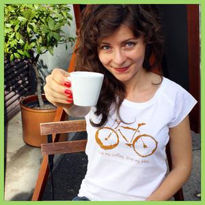 Biko Triko dámské COFFEE and BIKE
