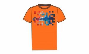 Cube Triko  T-Shirt Cube Pixel