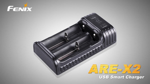 Fenix USB nabíječka Fenix ARE-X2 (Li-ion a NiMH)