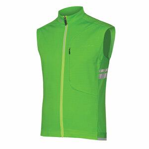 Endura vesta WINDCHILL svítivě zelená