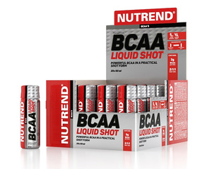 Nutrend BCAA LIQUID SHOT 20x60ml
