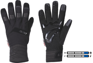 BBB zimní rukavice WATERSHIELD BWG-29 černé