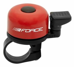 Force zvonek mini Fe červený paličkový