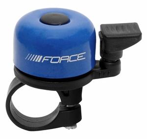 Force zvonek mini Fe modrý paličkový