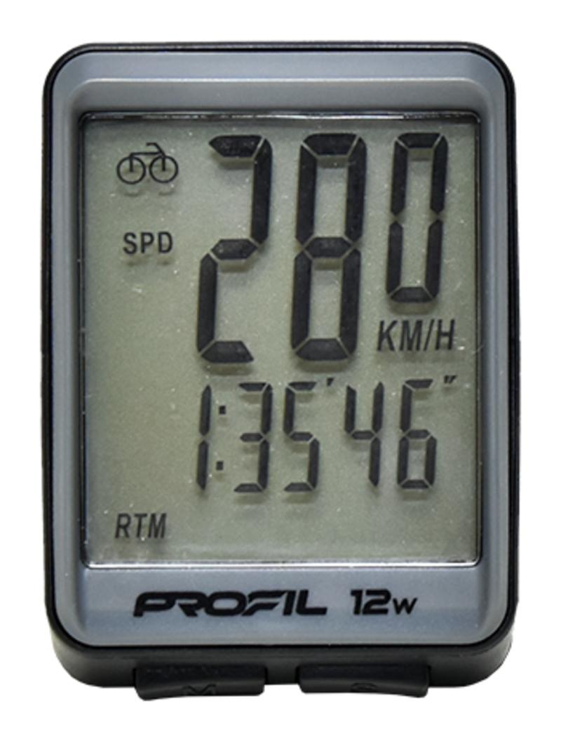 Profil tachometr 12W bezdrátový
