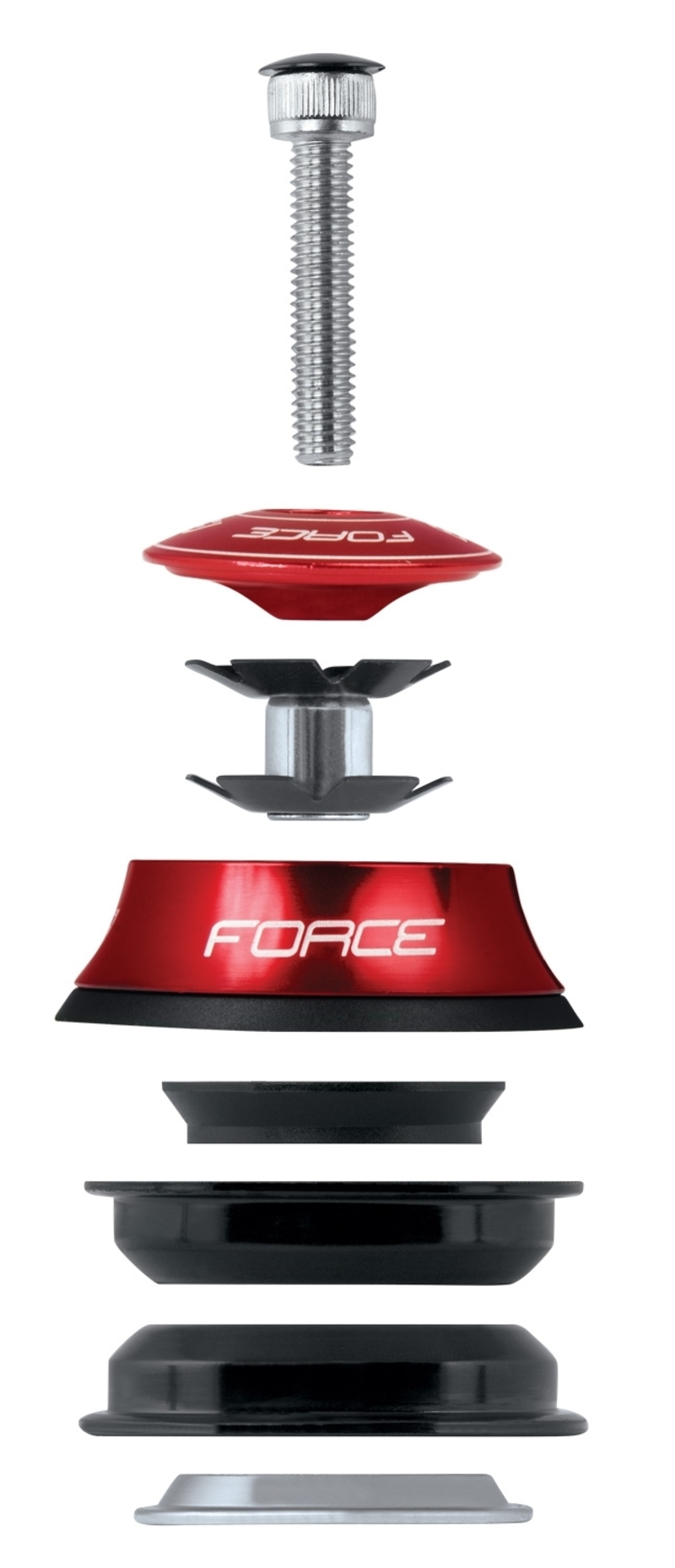 Force řízení AHEAD 1 1/8'' polointegrované Fe