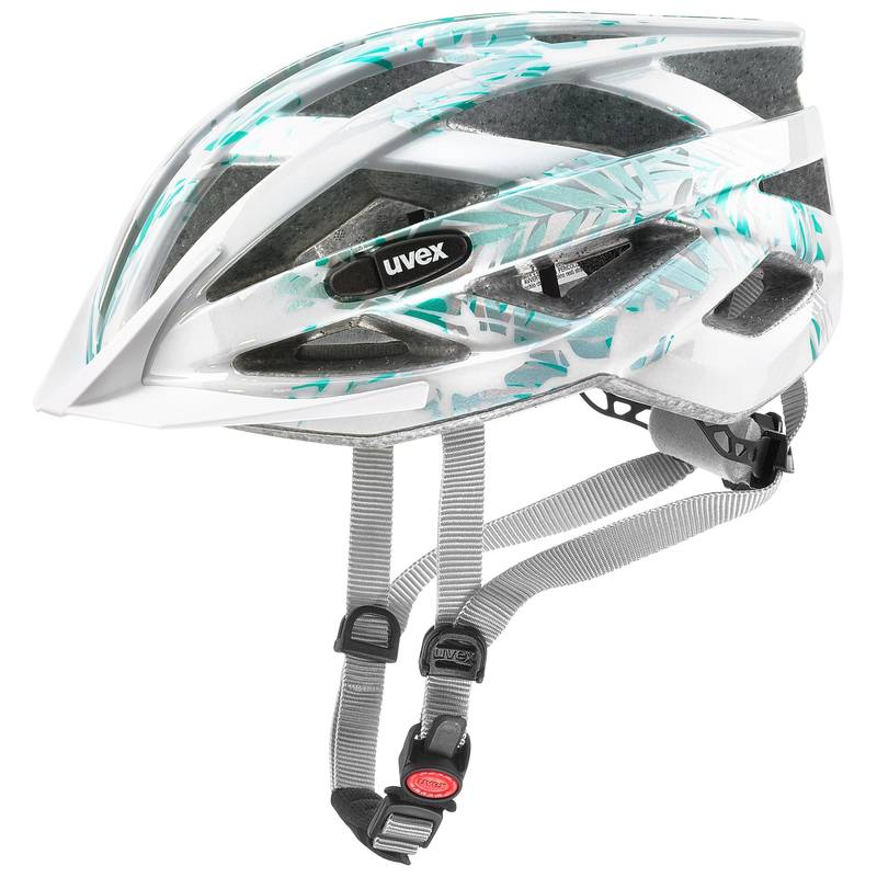 Uvex helma AIR WING white green
