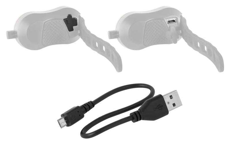 Force blikačka zadní BALL 2 USB