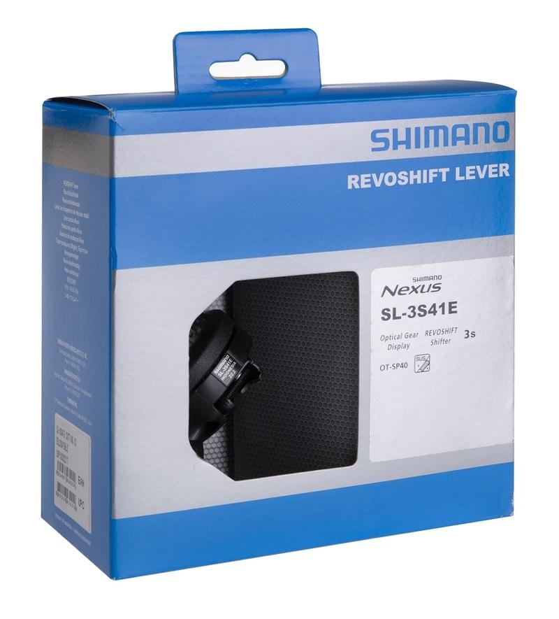 Shimano řazení NEXUS SL-3S41, 3sp. pravé, RevoShift