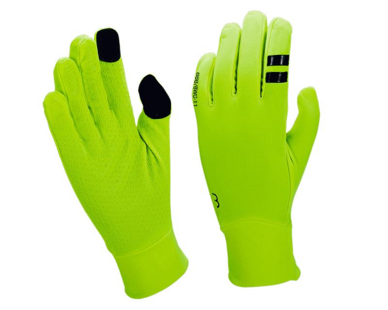 BBB zimní rukavice RACESHIELD BWG-11 neon