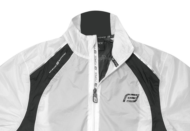 Force bunda X53 neprofuk, bílo-černá, II. jakost