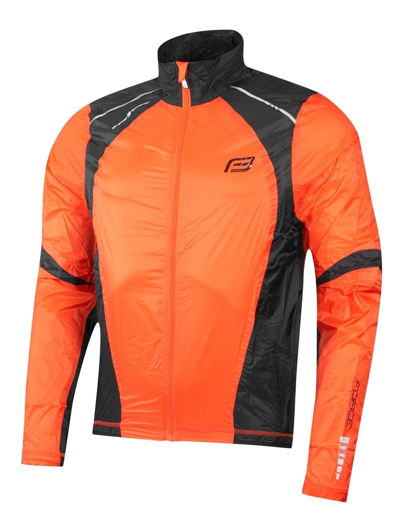 Force bunda X53 neprofuk oranžovo-černá