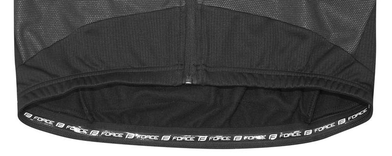 Force bunda X70 windster, šedo-černá