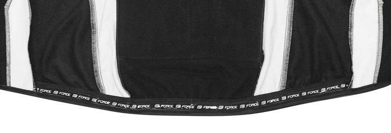 Force bunda X72 PRO softshell pánská, černo-bílá